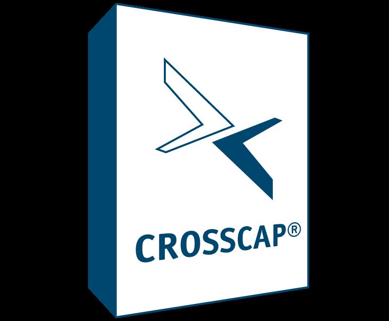 Grafische Darstellung der Verpackung für die Scan-Software Crosscap
